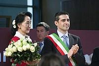 Foto Aung San Suu Kyi a Parma - 2013 Aung_San_Suu_Kyi_039