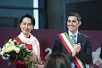 Foto Aung San Suu Kyi a Parma - 2013 Aung_San_Suu_Kyi_042