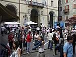 Foto Festa del Gelato di Borgotaro 2007 018 Piazza Manara