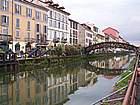 Foto Milano - Fiera dei fiori 2004 013 Ponte sul naviglio grande