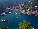 Foto Portofino e Santa Margherita Piazzetta di Portofino dal Castello
